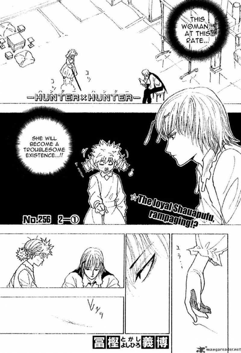 Hunter X Hunter Chapter 256 Page 1