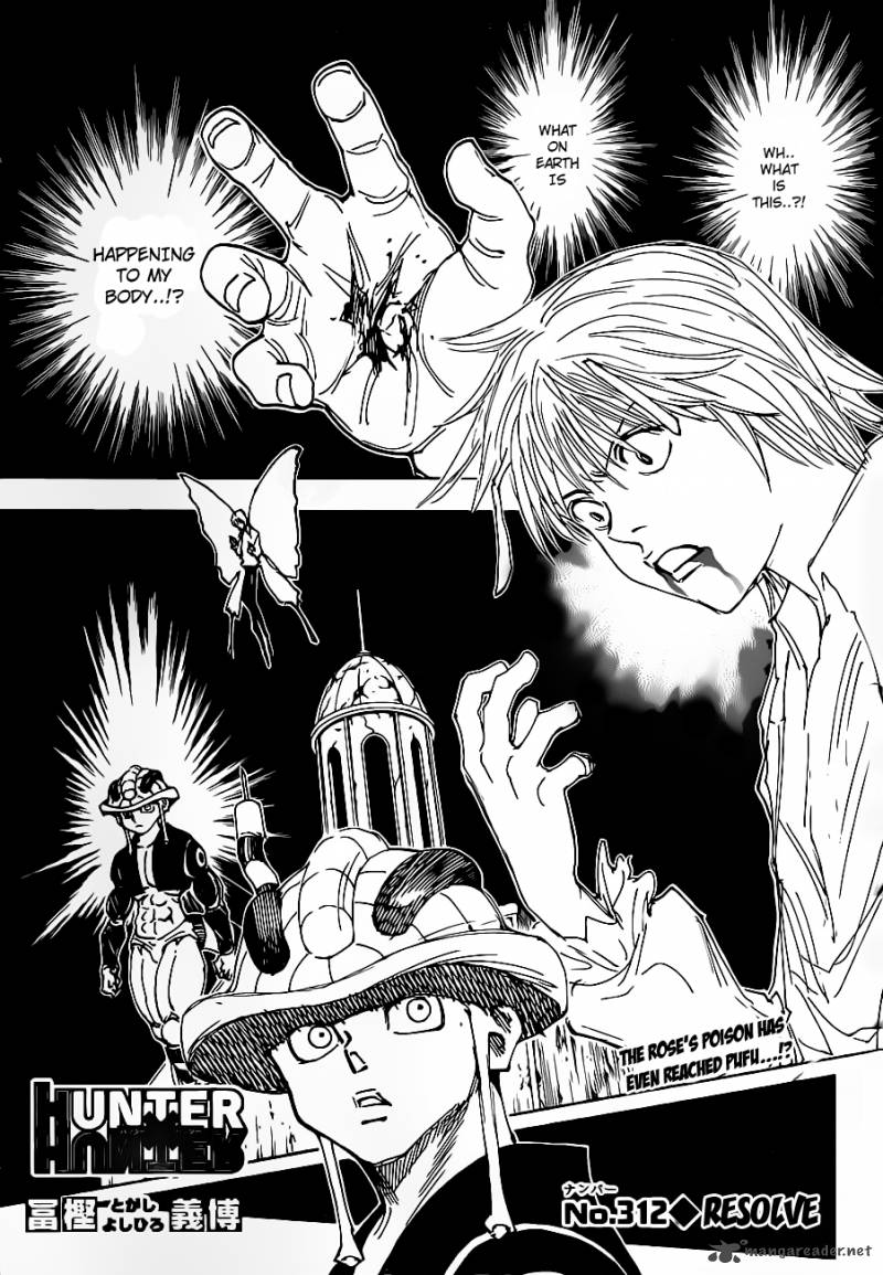 Hunter X Hunter Chapter 312 Page 1