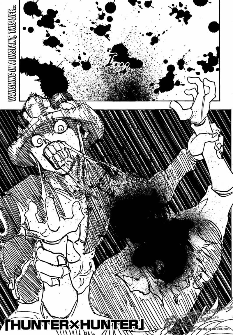 Hunter X Hunter Chapter 313 Page 1