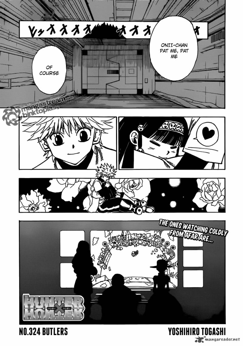Hunter X Hunter Chapter 324 Page 1