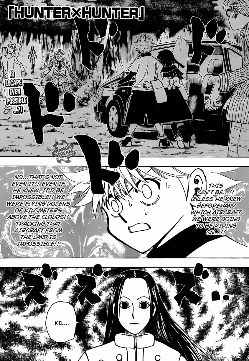 Hunter X Hunter Chapter 330 Page 1