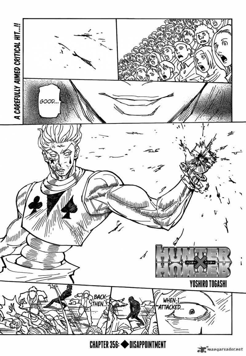 Hunter X Hunter Chapter 356 Page 1