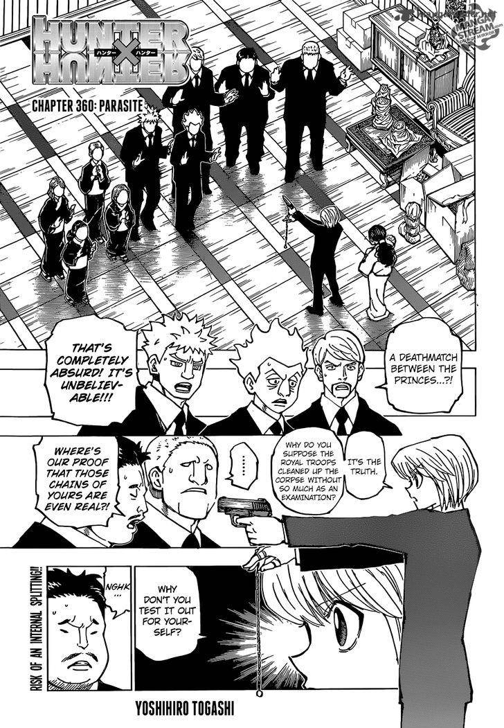 Hunter X Hunter Chapter 360 Page 1
