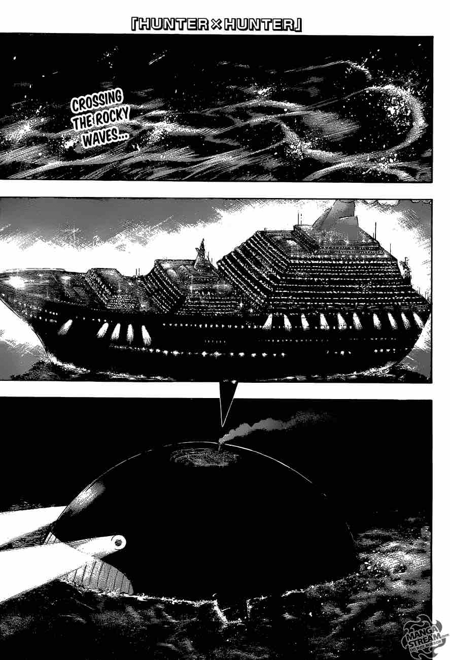 Hunter X Hunter Chapter 369 Page 1