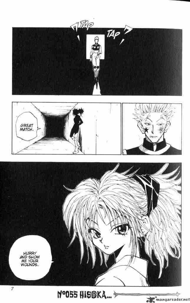 Hunter X Hunter Chapter 55 Page 1