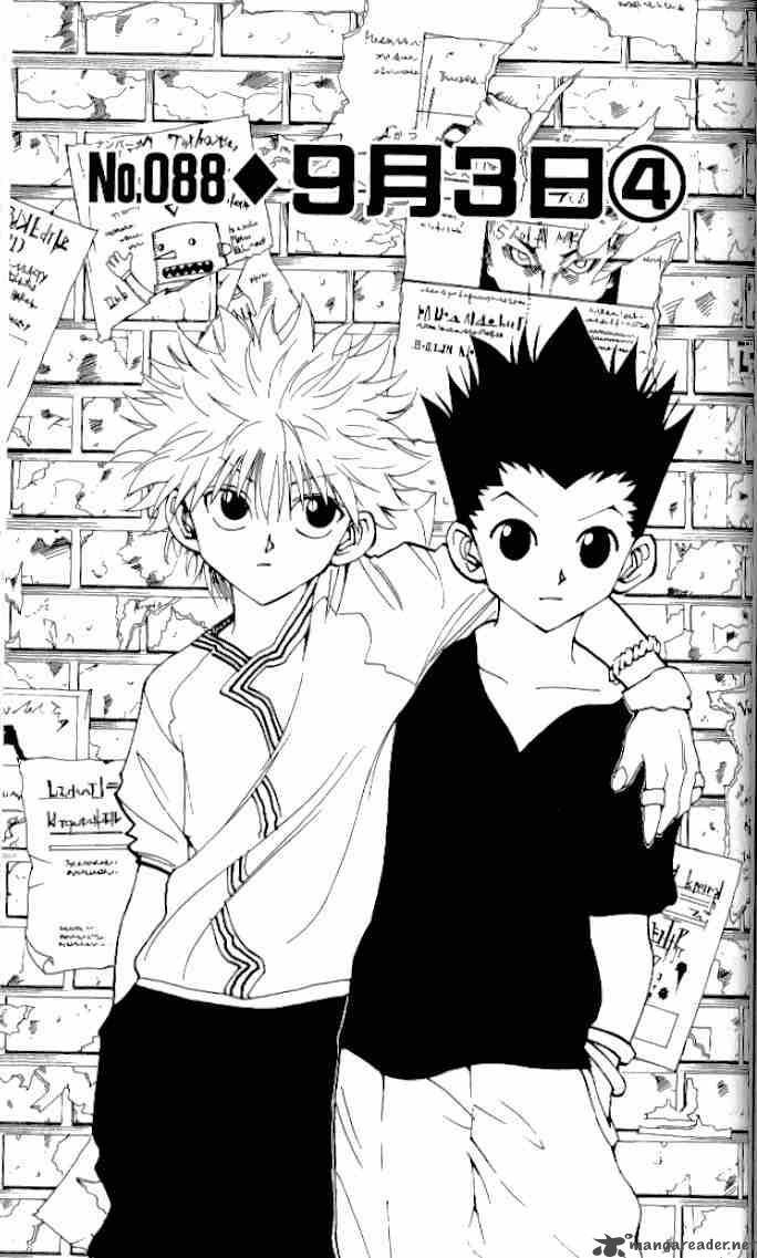 Hunter X Hunter Chapter 88 Page 1