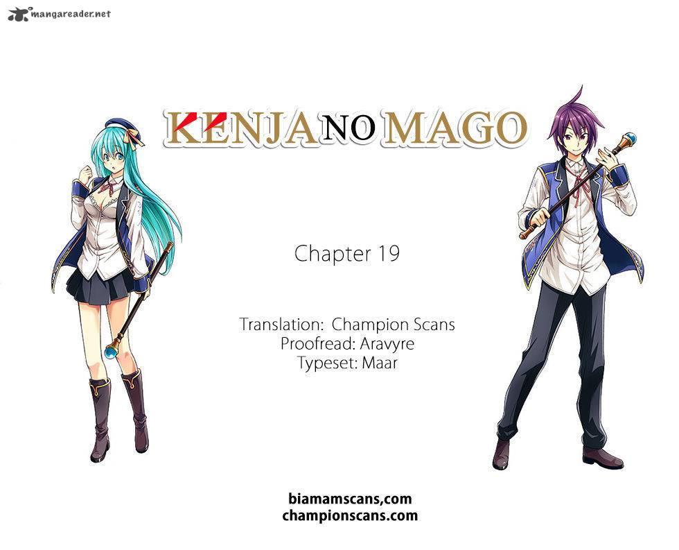 Kenja No Mago Chapter 19 Page 1