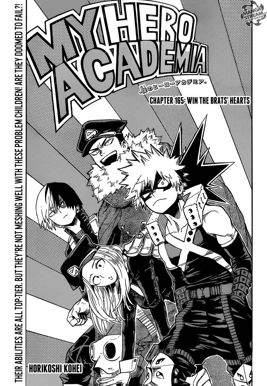My Hero Academia Chapter 165 Page 1