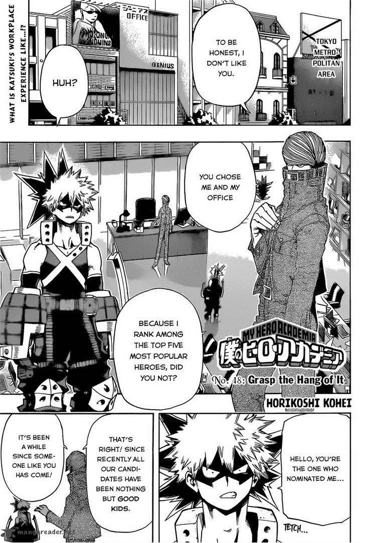 My Hero Academia Chapter 48 Page 1