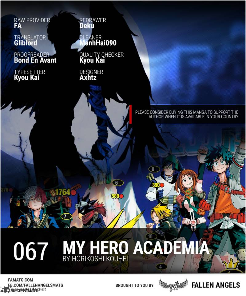 My Hero Academia Chapter 67 Page 1