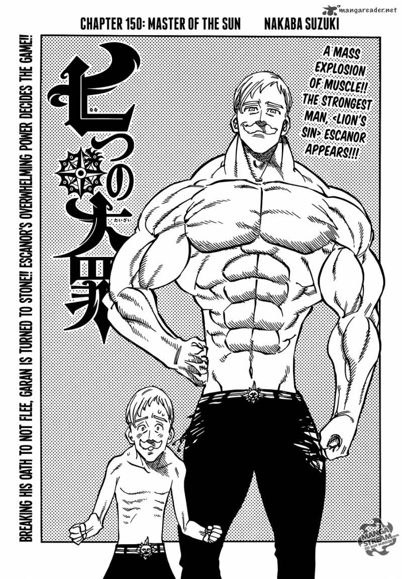 Nanatsu No Taizai Chapter 150 Page 1