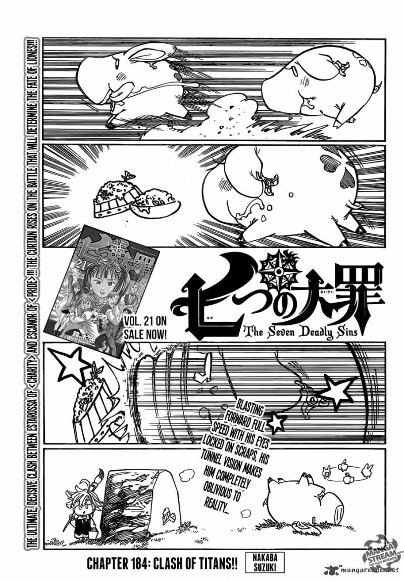 Nanatsu No Taizai Chapter 184 Page 1