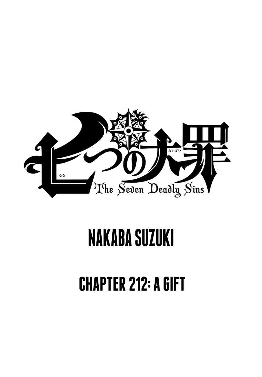 Nanatsu No Taizai Chapter 212 Page 1