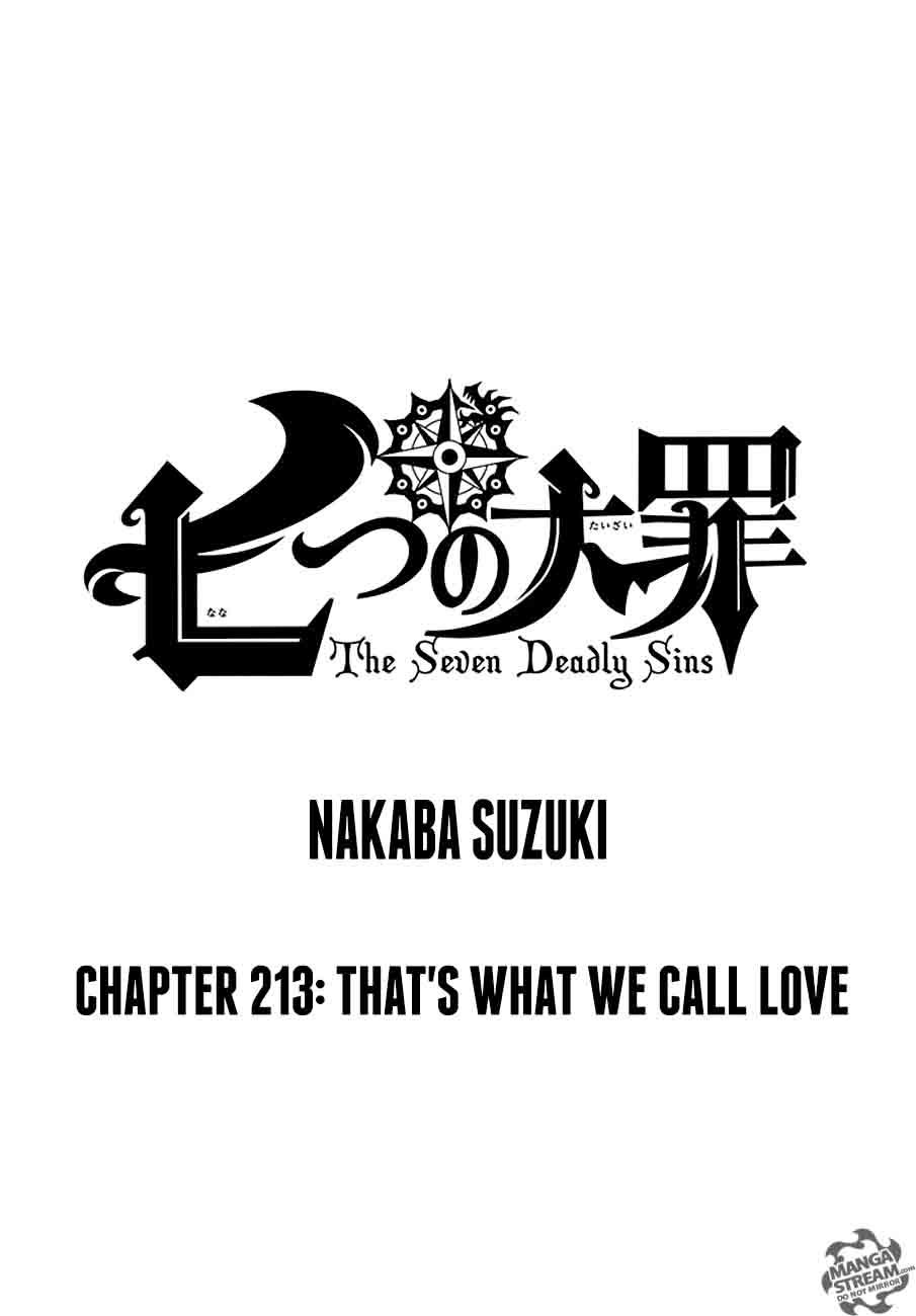 Nanatsu No Taizai Chapter 213 Page 1