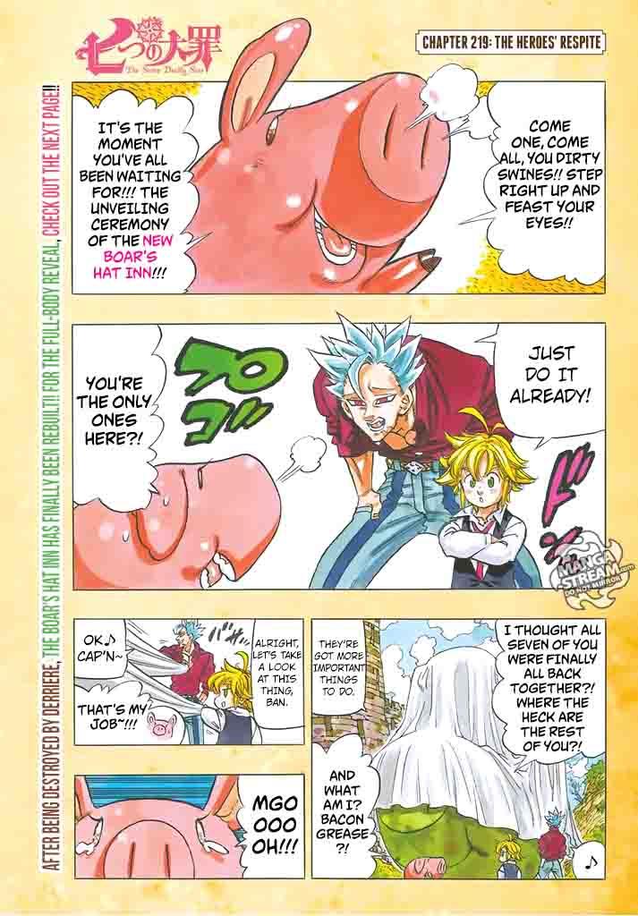 Nanatsu No Taizai Chapter 219 Page 1
