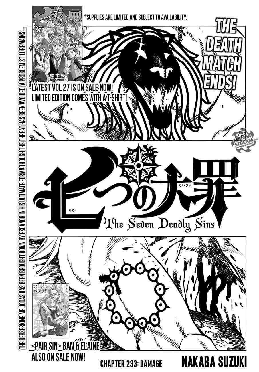 Nanatsu No Taizai Chapter 233 Page 1
