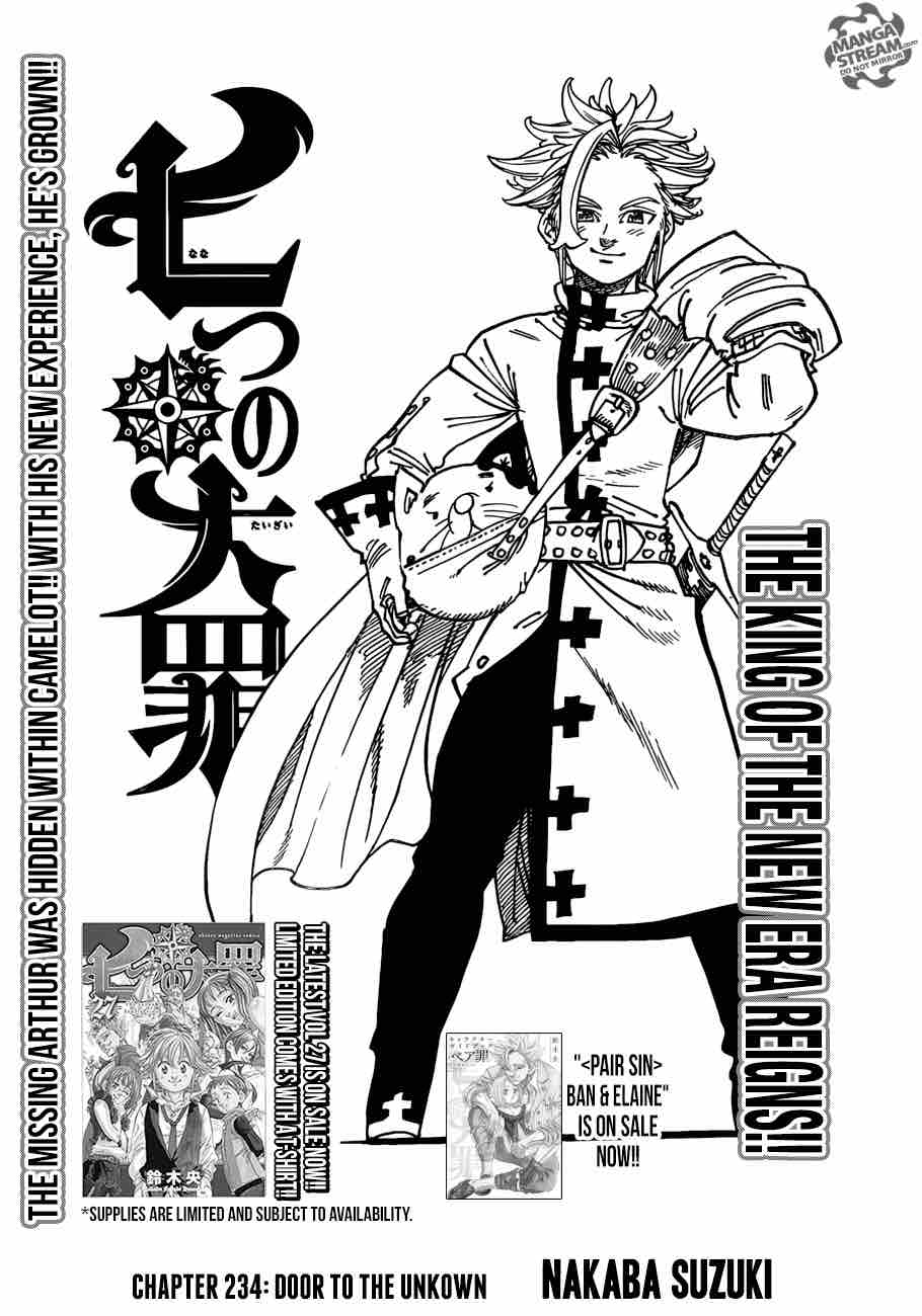 Nanatsu No Taizai Chapter 234 Page 1