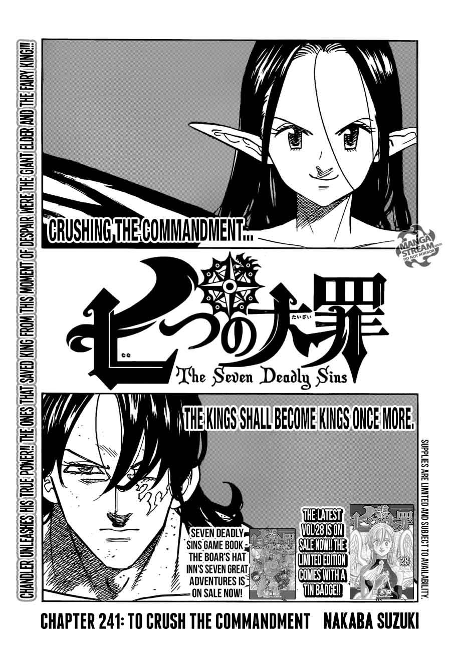 Nanatsu No Taizai Chapter 241 Page 1
