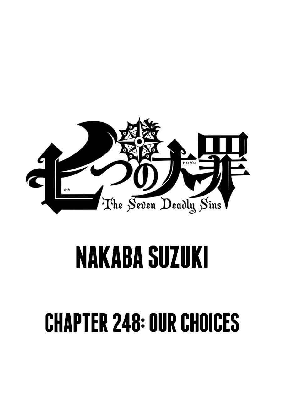 Nanatsu No Taizai Chapter 248 Page 1