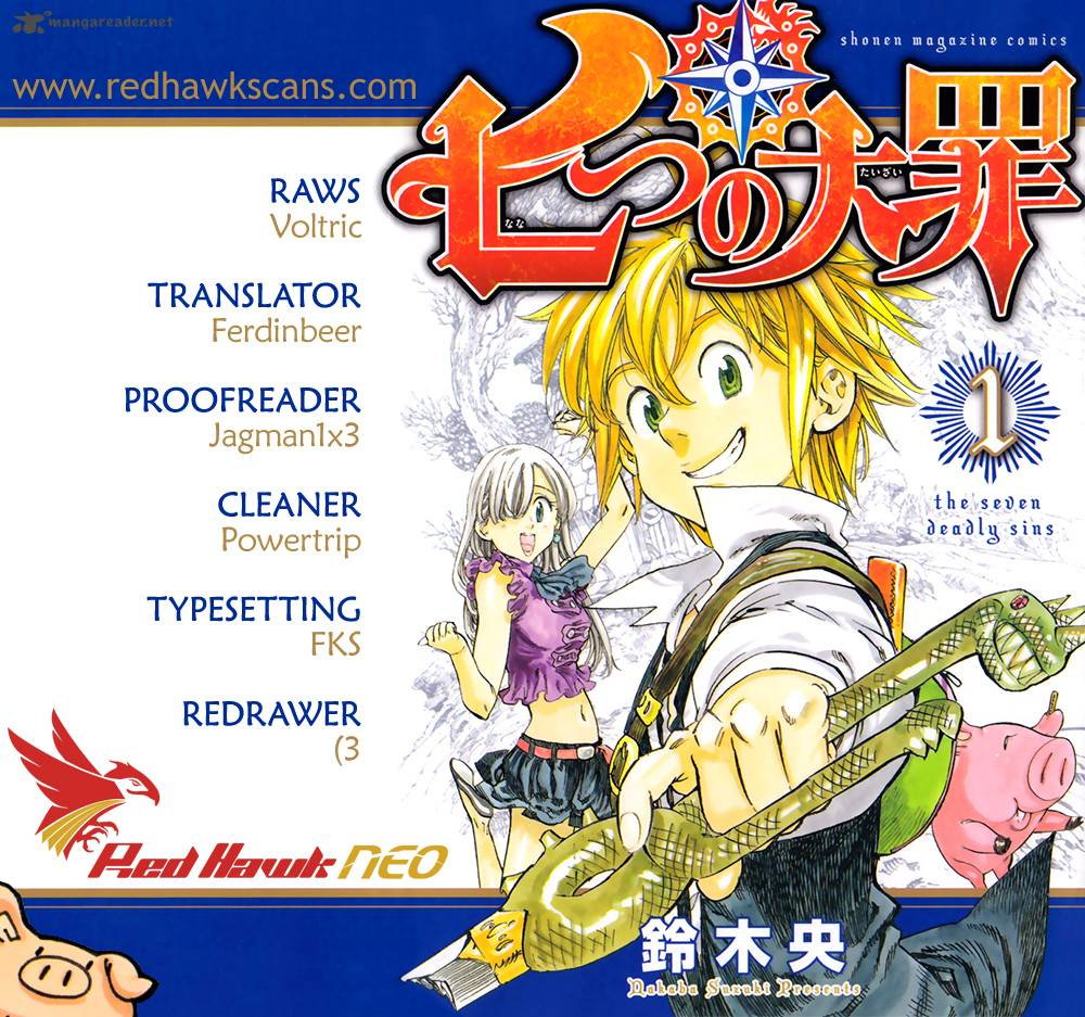 Nanatsu No Taizai Chapter 34 Page 1