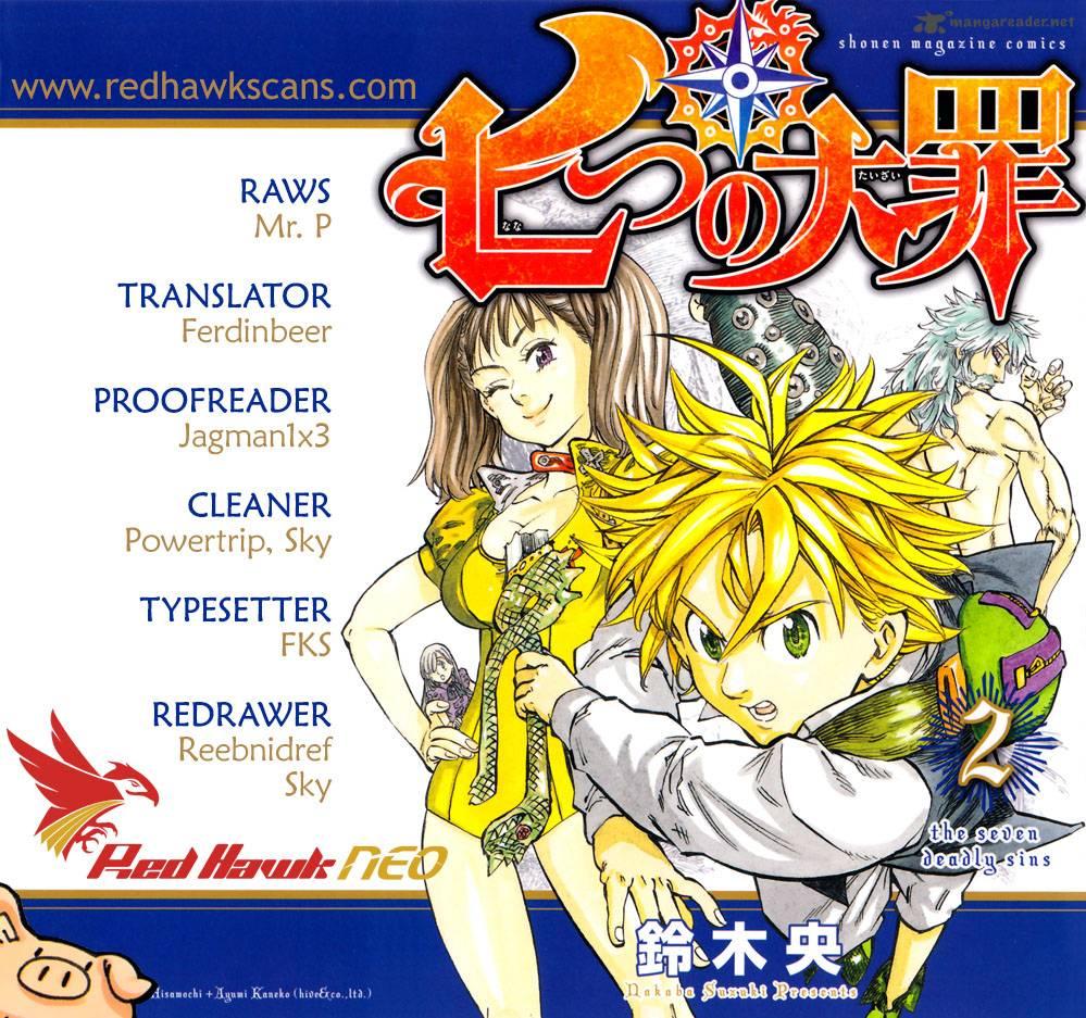 Nanatsu No Taizai Chapter 36 Page 1