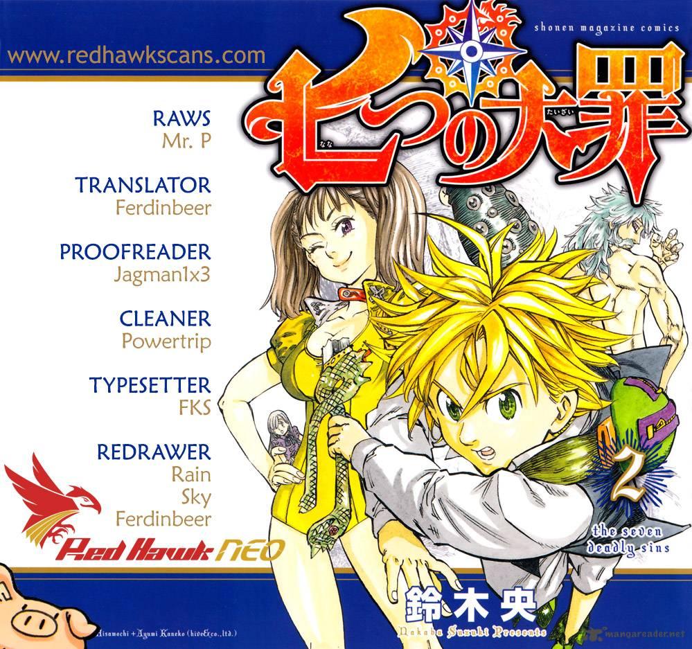 Nanatsu No Taizai Chapter 40 Page 1
