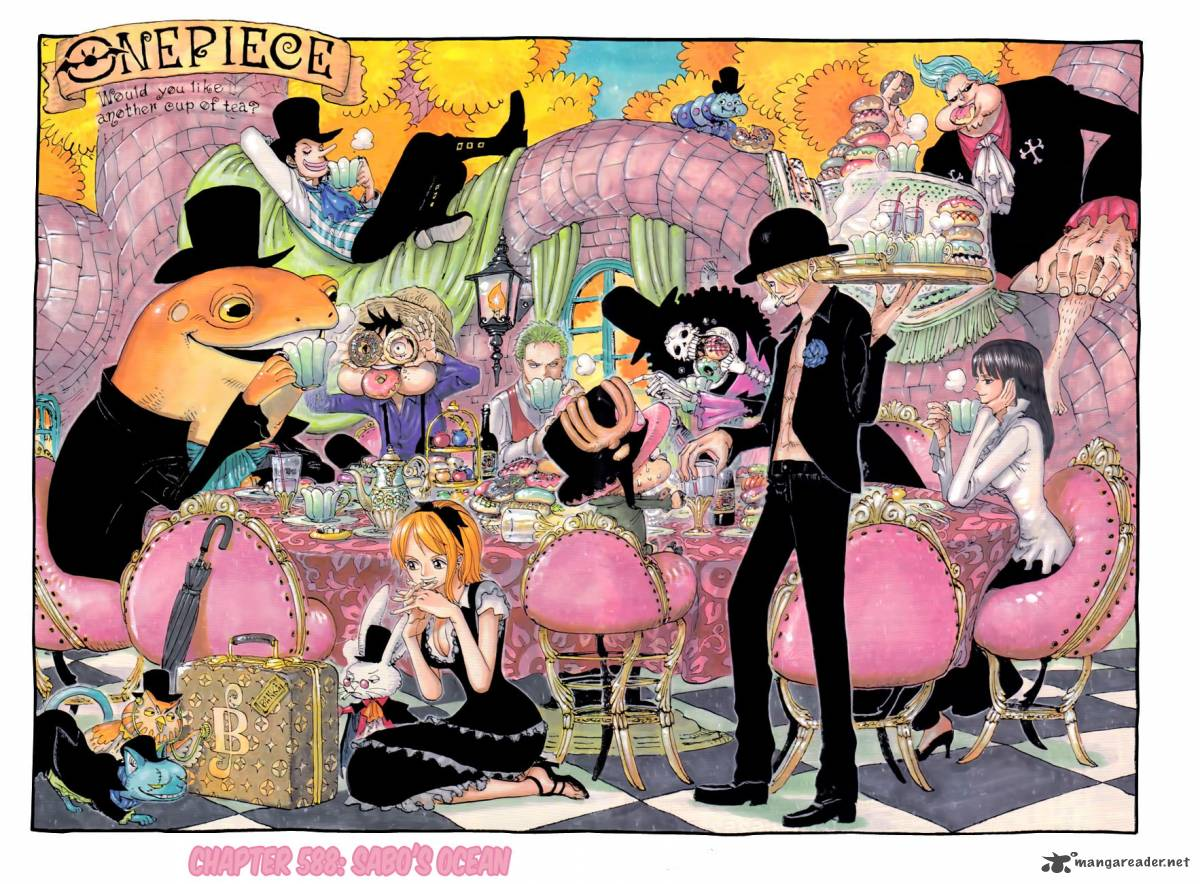 One Piece Chapter 588 Page 1