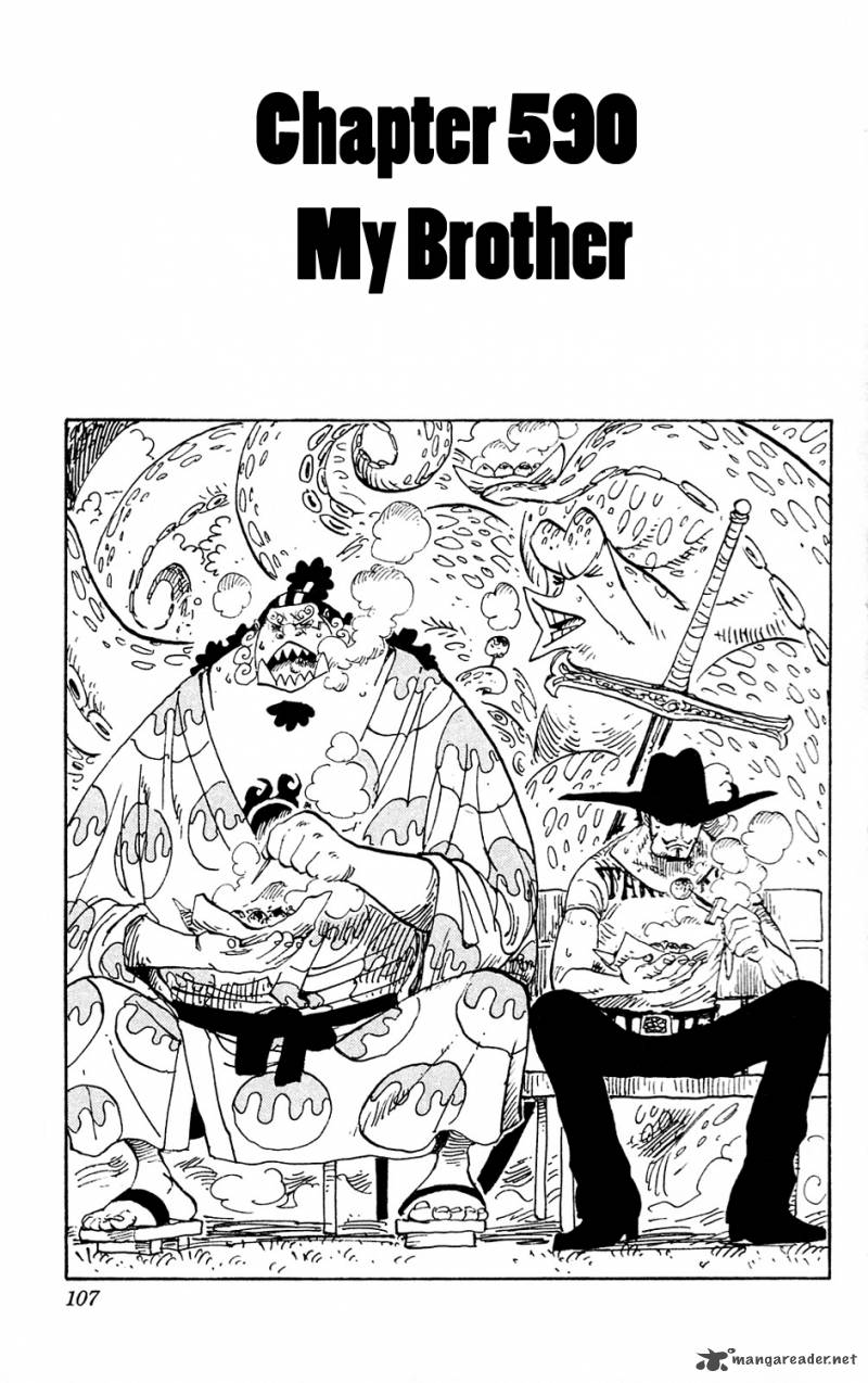 One Piece Chapter 590 Page 1