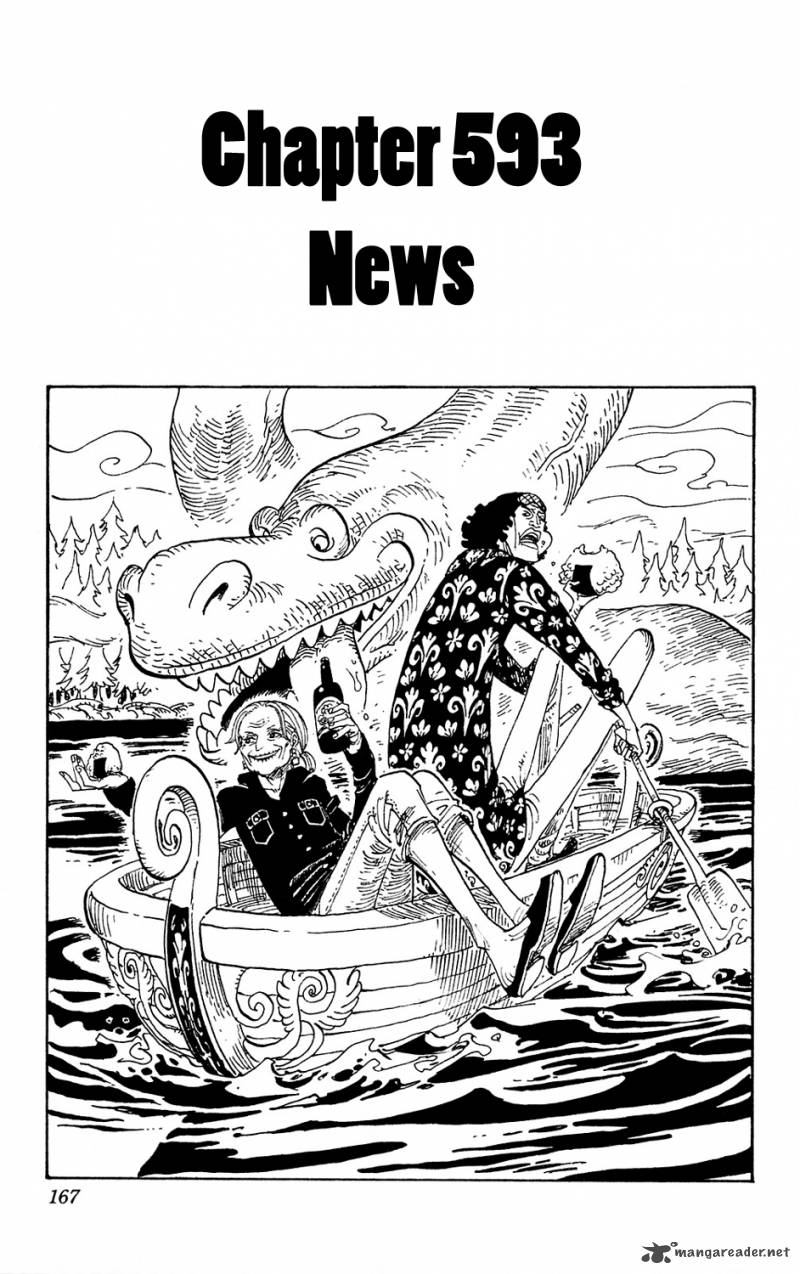 One Piece Chapter 593 Page 1