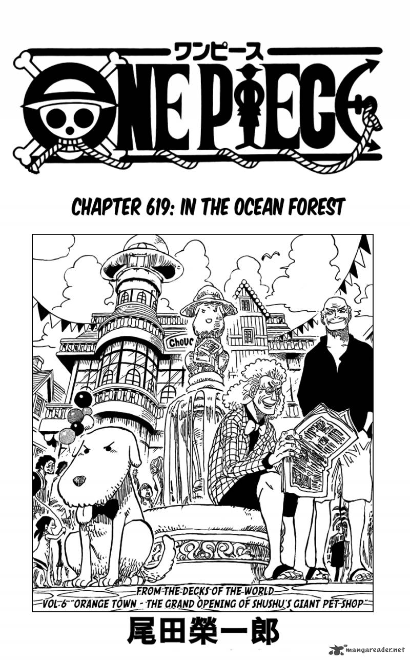 One Piece Chapter 619 Page 1