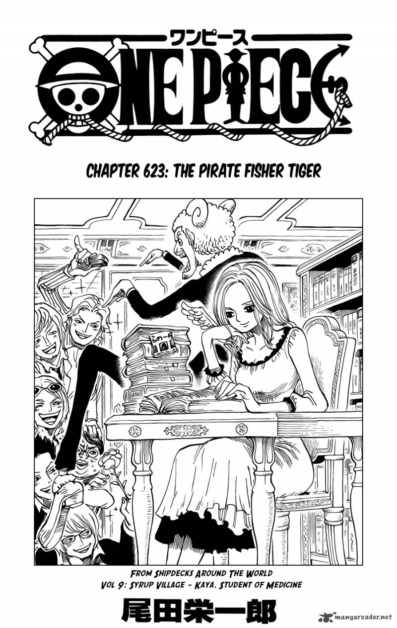One Piece Chapter 623 Page 1