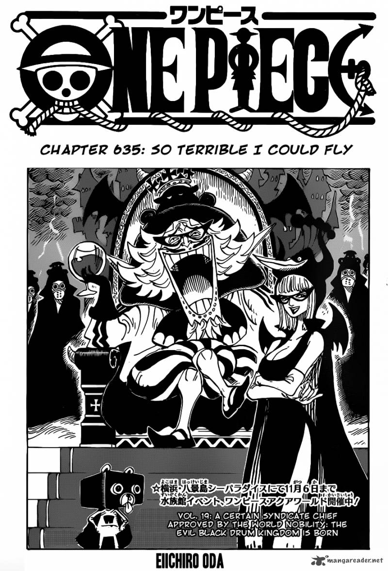 One Piece Chapter 635 Page 1