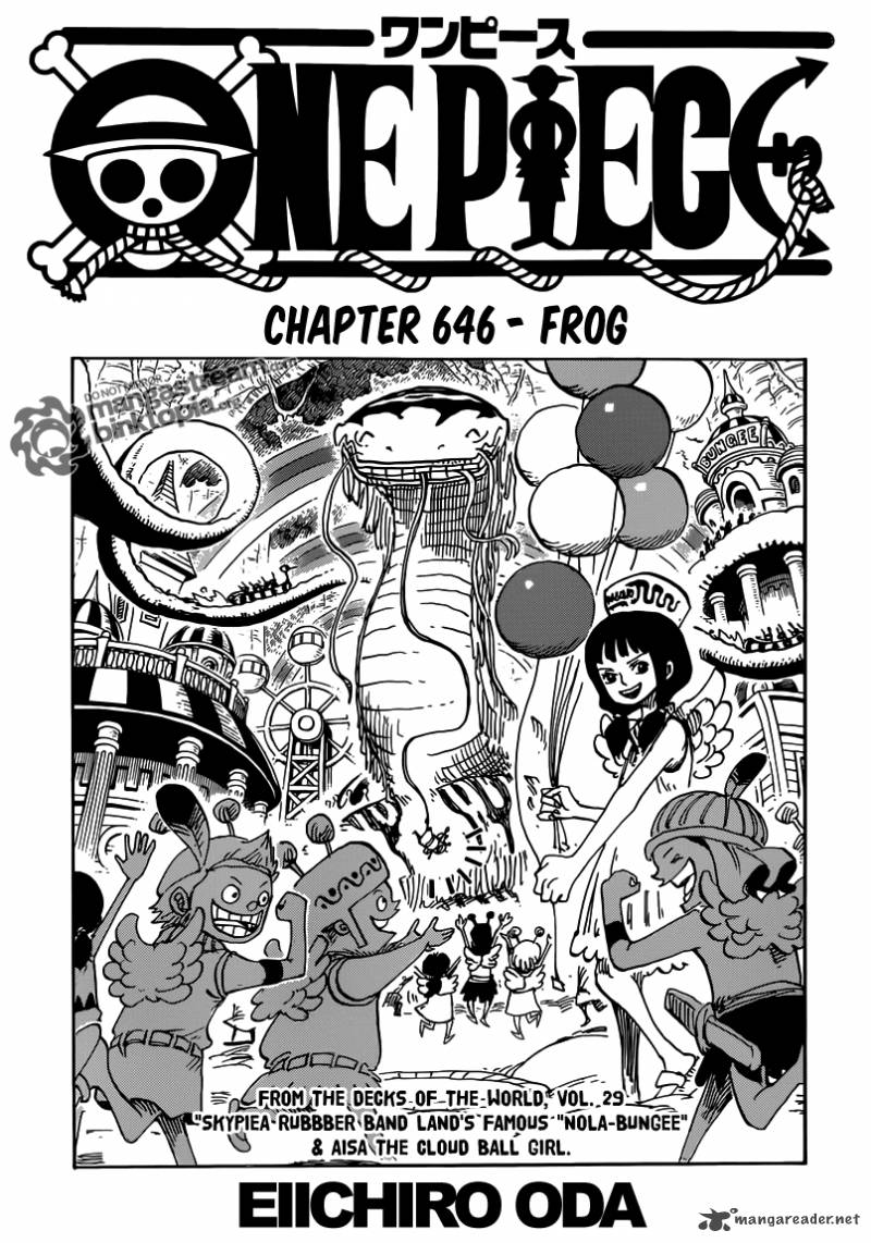 One Piece Chapter 646 Page 1