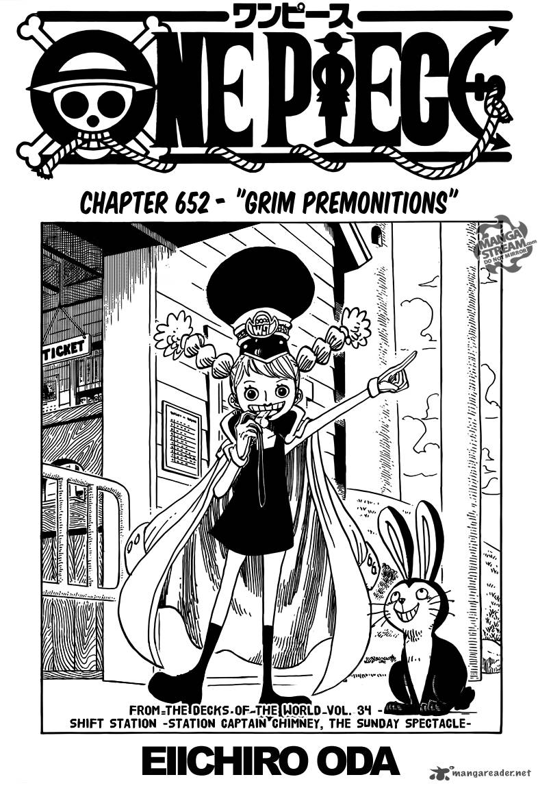 One Piece Chapter 652 Page 1