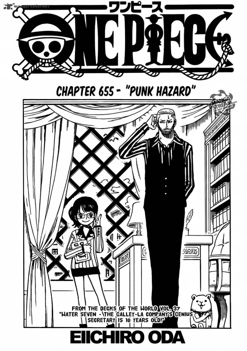One Piece Chapter 655 Page 1