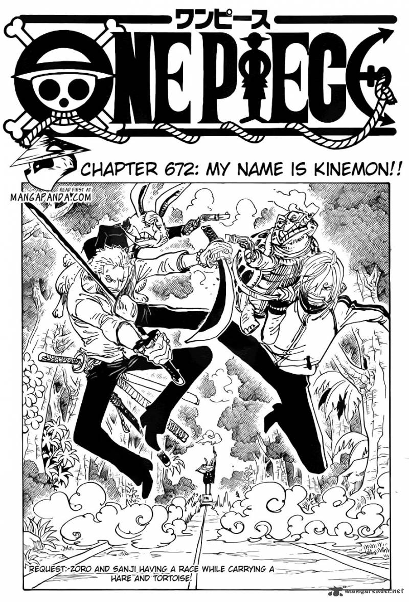 One Piece Chapter 672 Page 1