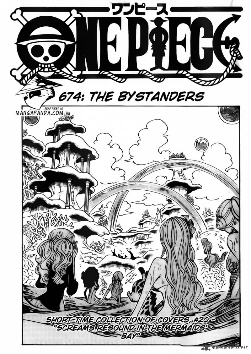 One Piece Chapter 674 Page 1