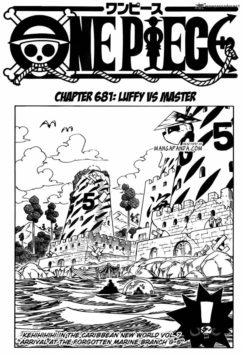 One Piece Chapter 681 Page 1
