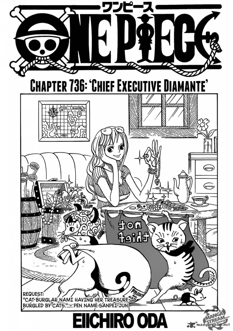 One Piece Chapter 736 Page 1