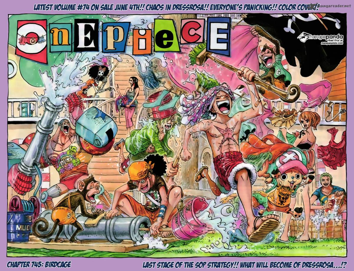 One Piece Chapter 745 Page 1