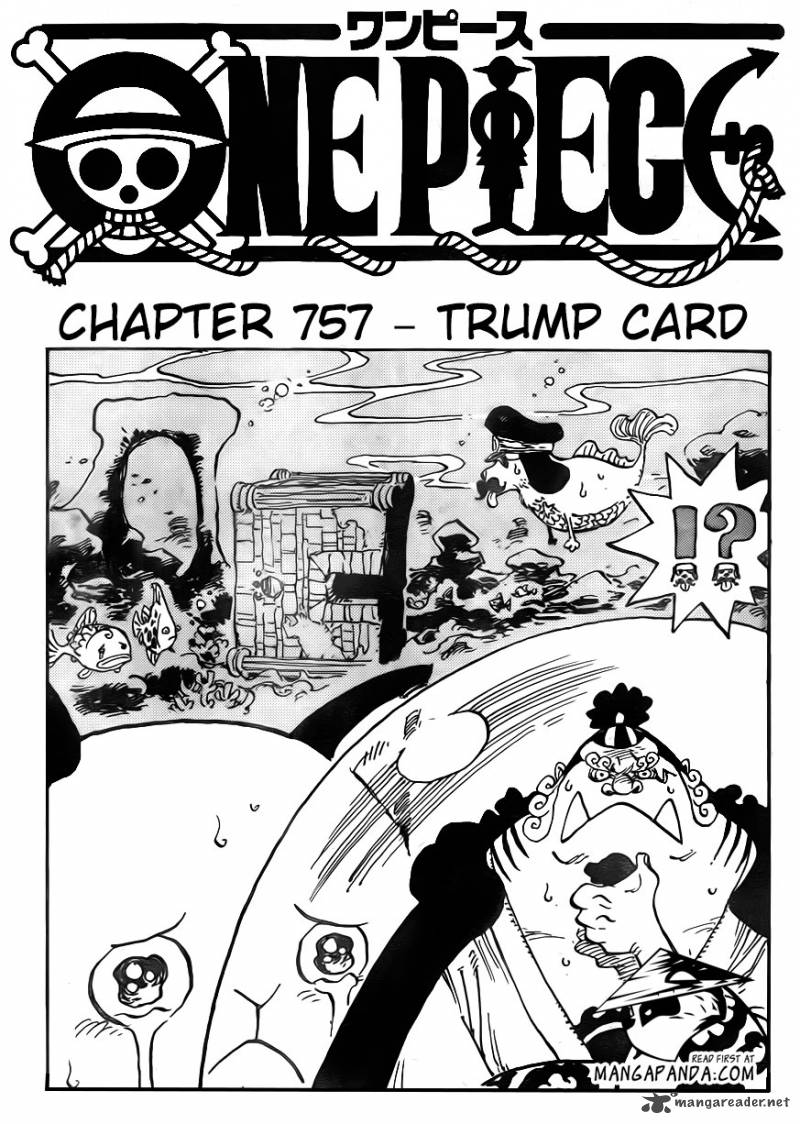 One Piece Chapter 757 Page 1