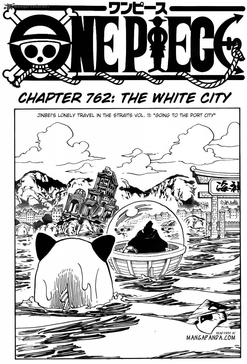 One Piece Chapter 762 Page 1