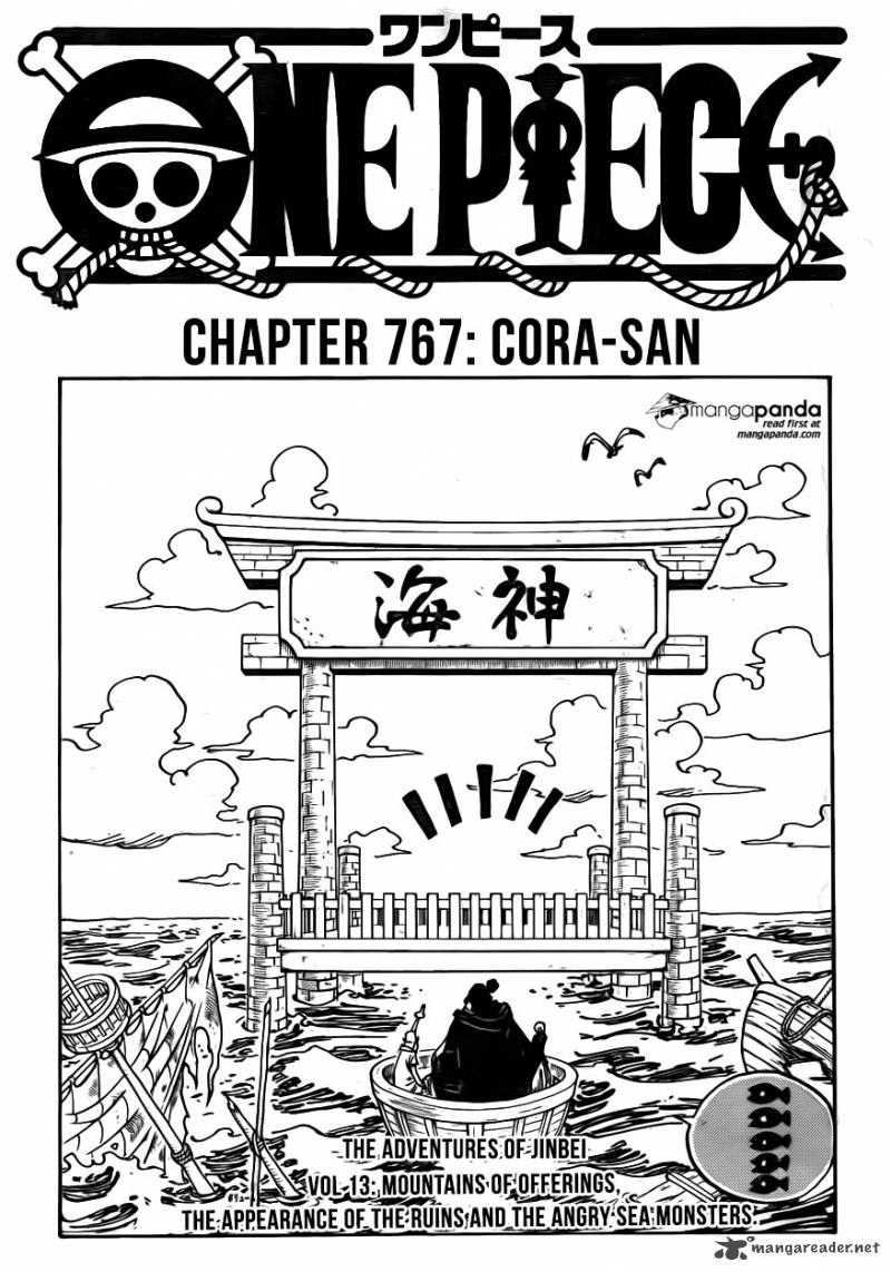 One Piece Chapter 767 Page 1