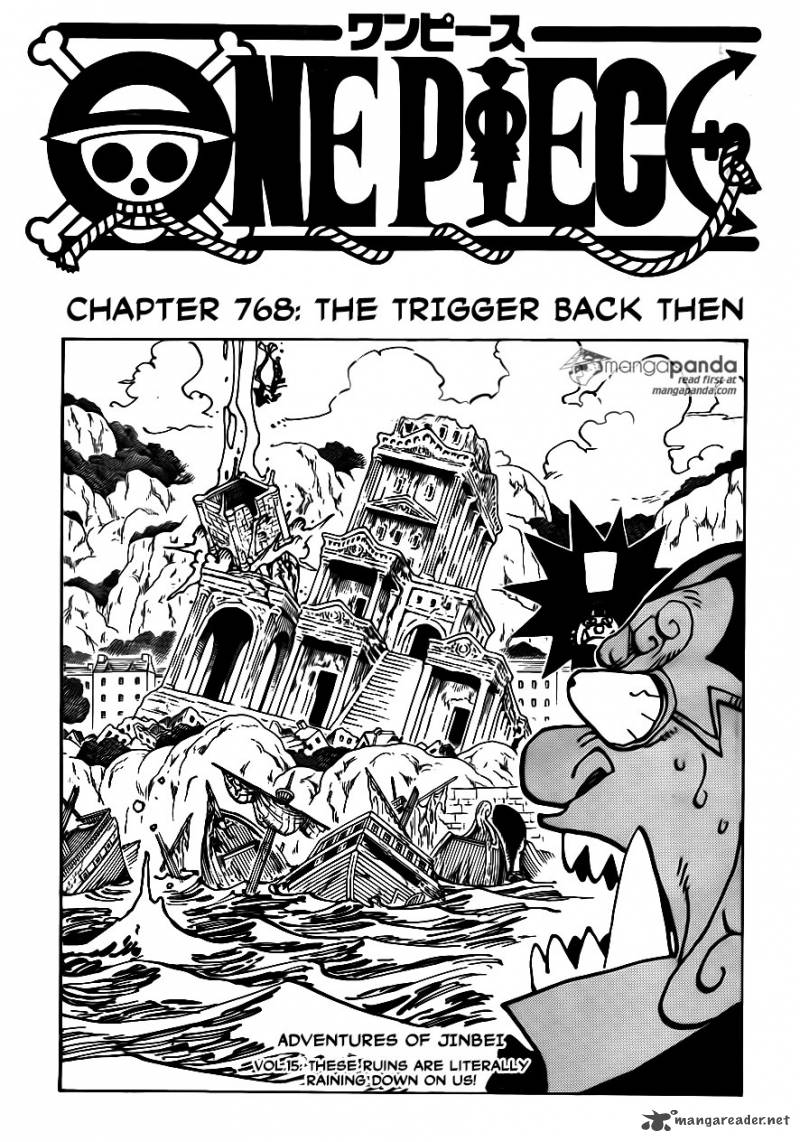 One Piece Chapter 768 Page 1