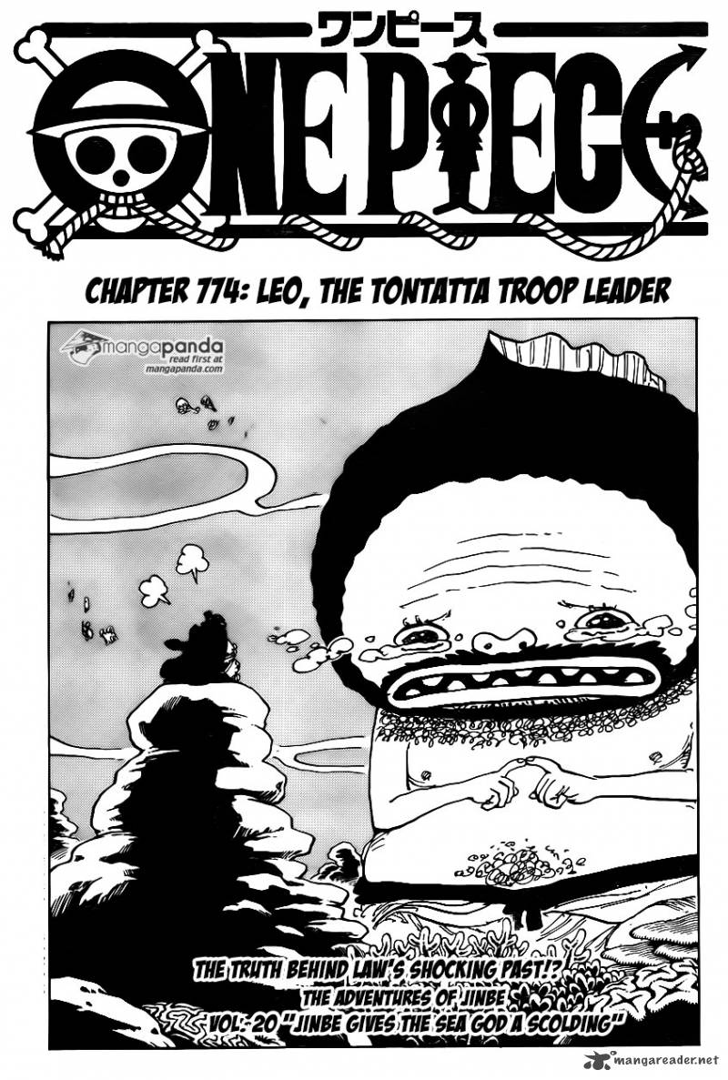 One Piece Chapter 774 Page 1