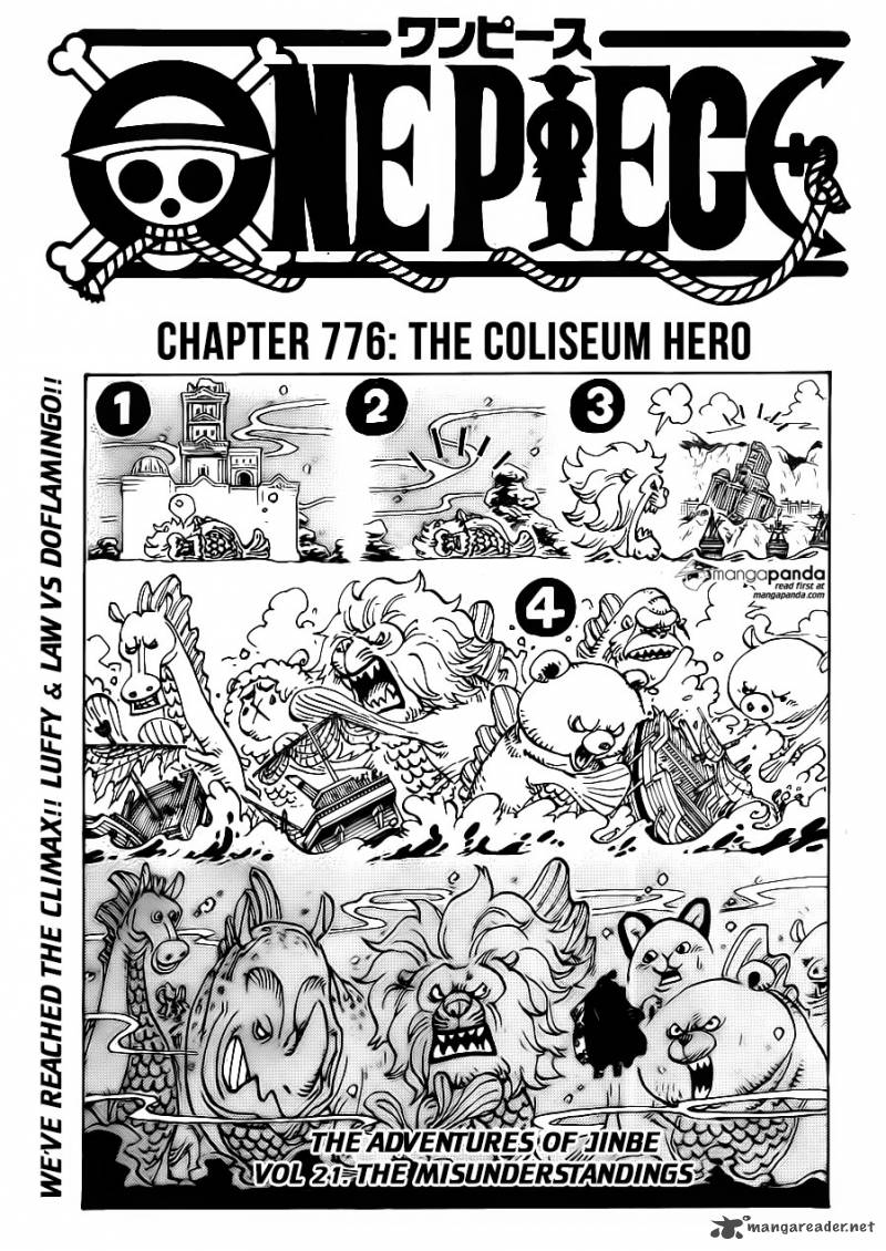 One Piece Chapter 776 Page 1