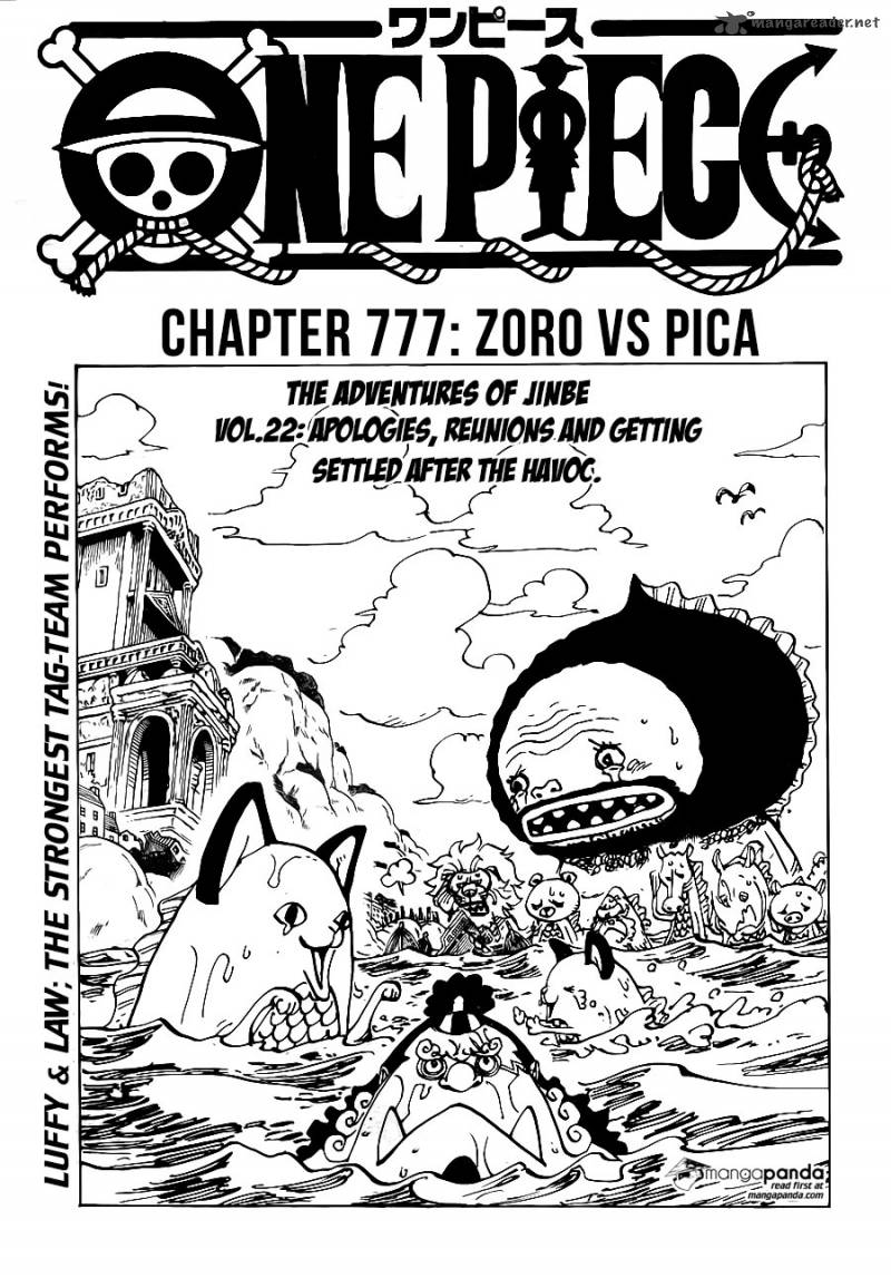 One Piece Chapter 777 Page 1