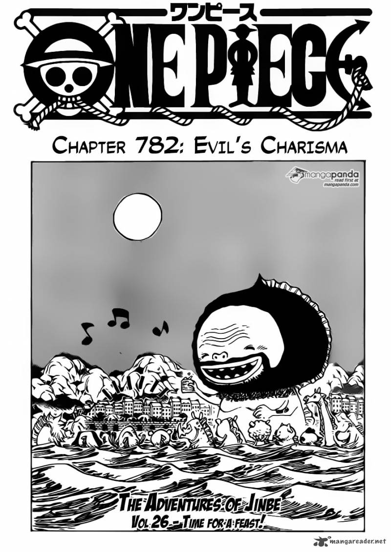 One Piece Chapter 782 Page 1