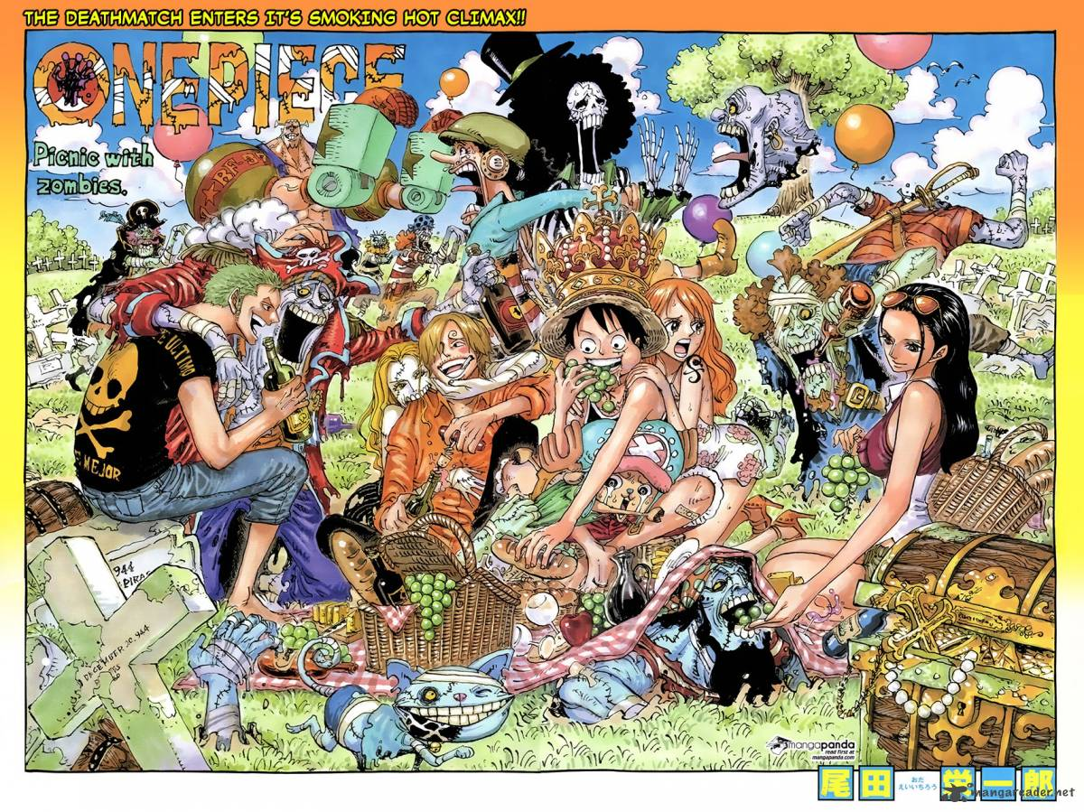 One Piece Chapter 784 Page 1