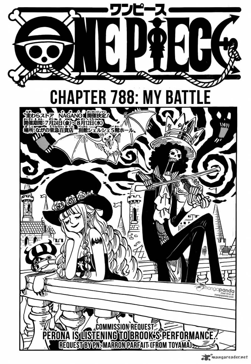 One Piece Chapter 788 Page 1